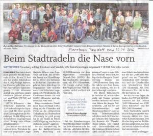 PT vom 20.07.16_Preise Stadtradeln