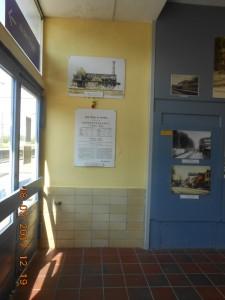 Bahnhofshalle nach Reparatur
