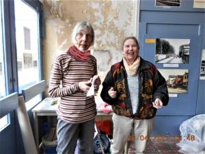 Astrid Budszus und Gurdrun Hackenberg